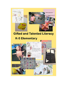 Monstrous Gifted and Talented Literacy Curruculum 1,140 Pa