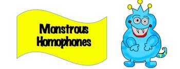 Monstrous Homophones