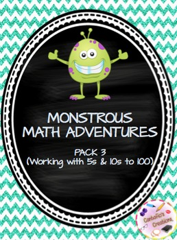 Monstrous Math Adventures PACK #3