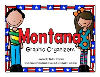 Montana Graphic Organizers (Perfect for KWL charts and geo