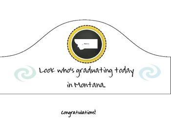 Montana State Graduation Hat
