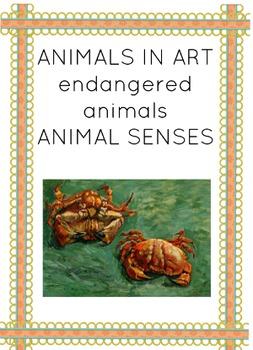 ANIMALS EDUCATIONAL MATERIAL MONTESSORI 3-PART NOMENCLATURE CARDS