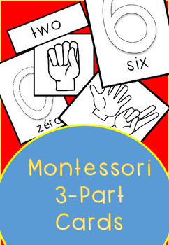Montessori 3-Part Cards english