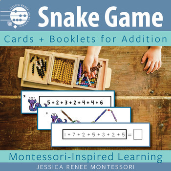 Montessori Addition Snake Game BUNDLE (Easy Assembly)