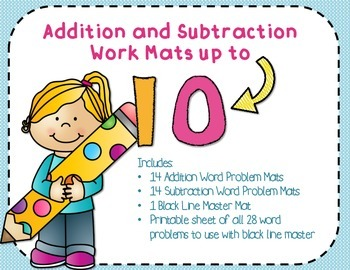 Montessori Addition and Subtraction Work mats