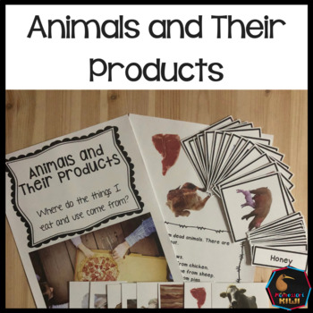 Animals and food products and uses