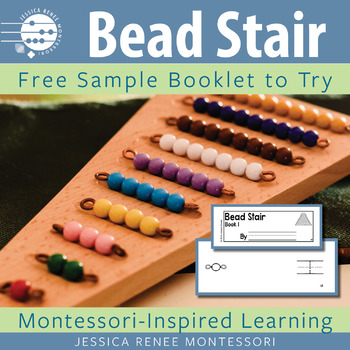 Montessori Bead Stair Booklet (Easy Assembly)