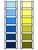 Montessori Color Tablets, Box 3 - Grading Colors from Dark