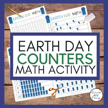 Montessori Counters - Earth Day theme