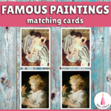 Montessori Famous Paintings Matching Cards