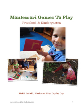 Montessori Games to Play E-Book