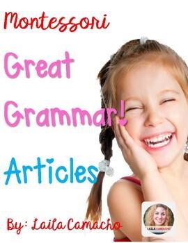 Montessori Grammar Articles