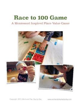 Montessori Inspired Place Value Game