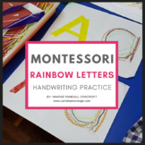 Montessori Language Letter Writing Practice