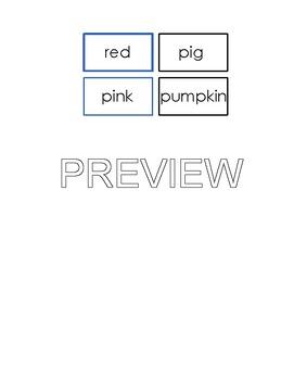 Montessori Logical Adjective Game - Phonetic