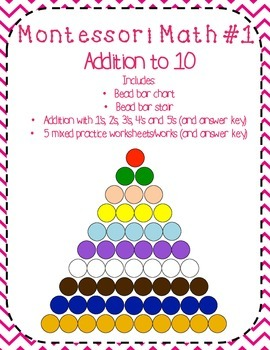 Montessori Math Addition (Bead Bar Addition)