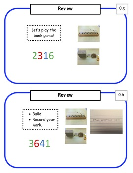 Montessori Math Command Cards - 1st Grade Bundle