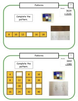 Montessori Math Command Cards - 3rd Grade Bundle