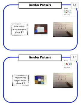 Montessori Math Command Cards / 1st Grade / set 1 of 5