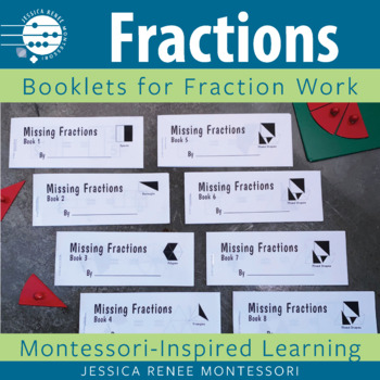 Montessori Missing Fractions Booklets (Easy Assembly)