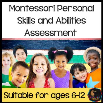 Montessori Personal skills and abilties assessment