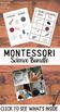 Montessori Science Activities Pack