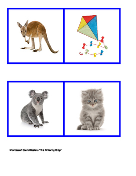 Montessori Sound Basket 4 Pictures