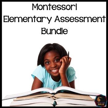 Montessori Elementary Test assessment Bundle
