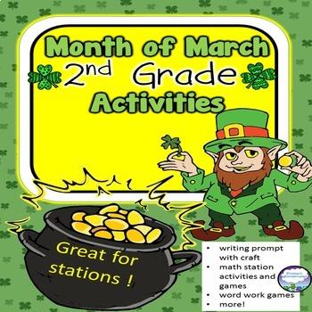St. Patrick's Day Printables 2nd Grade