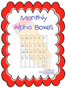 Monthly Alpha Boxes