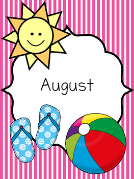 Monthly Binder Labels