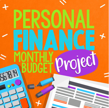 personal finance budgeting and planning monthly project tpt