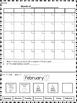 Monthly Calendar Labeling Set