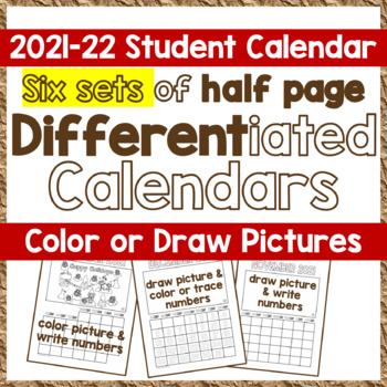 Calendar SY 2016-17 - 4 Sets of CYO Differentiated Student