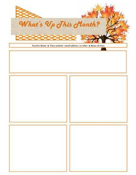 Monthly Calendar and Newsletter Templates Editable