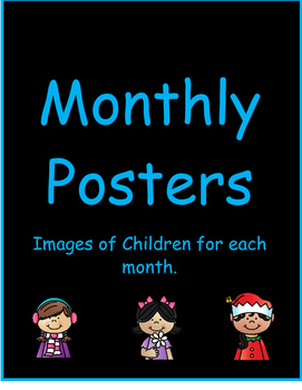 Monthly Children Posters