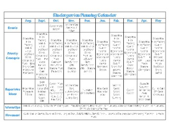 Monthly Curriculum Guides K-5 Music