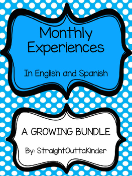 Monthly Family Experiences in English and Spanish- GROWING