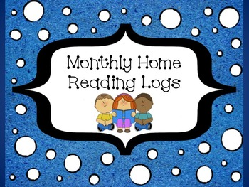 Monthly Home Reading Logs 2014 - 2015