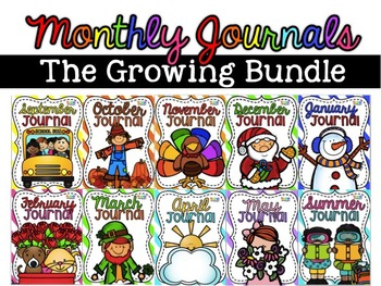 Monthly Journal BUNDLE