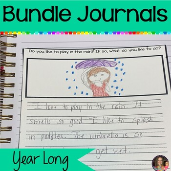 Monthly Journal Bundle: August-May