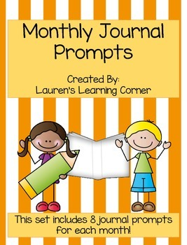 Monthly Journal Prompts - September - June