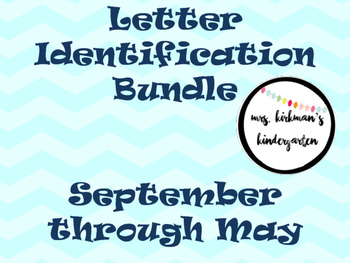 Monthly Letter Identification- Literacy Center