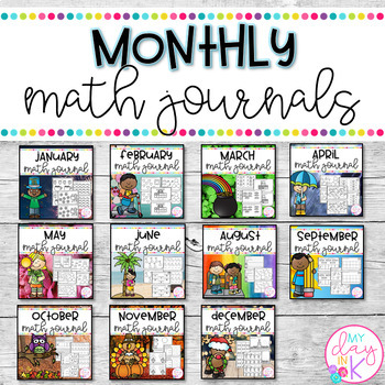 Monthly Math Journals
