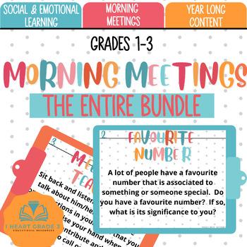 Morning Meetings:  Growing Bundle