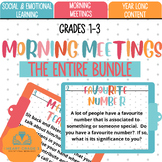 Morning Meetings:  Growing Bundle