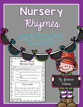 Monthly Nursery Rhyme Recitation