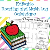 Monthly Reading Log Calendars *Plus Yearly Updates!*