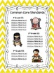 Monthly Reading Logs Common Core Friendly