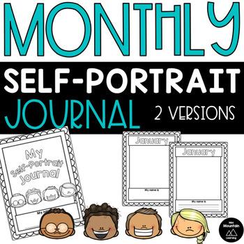 Monthly Self-Portrait Journal